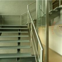 fabricacion de escalera metalica, carpinteria metalica