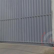 fabricacion de puerta corrediza, puerta metalica, puerta corrediza nindutrial