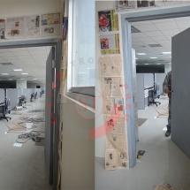 puerta de emergencia, puerta contra incendio, puerta de escape, puerta antipanica