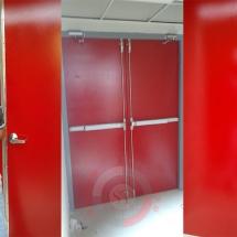 puerta contra incendio doble hoja